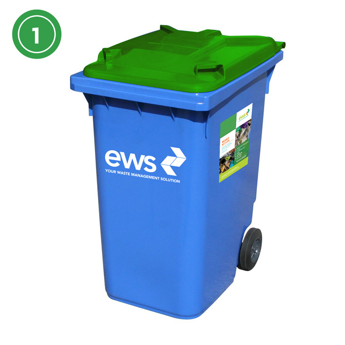 ews mixed recycling bin