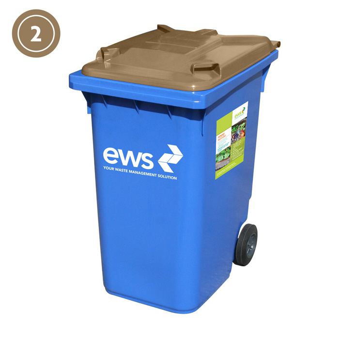 ews food recycling bin