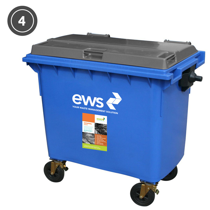 ews general waste bin